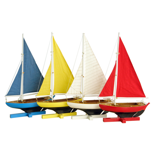 Set of 4 Sunset Sailers