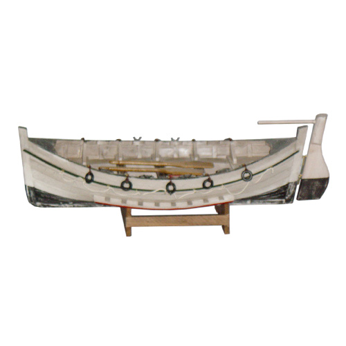 Antique Wooden Row Boat