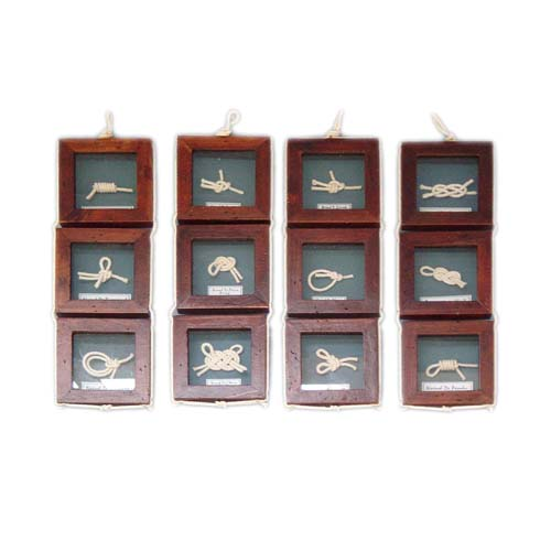 KNOTS FRAME WALL HANGING