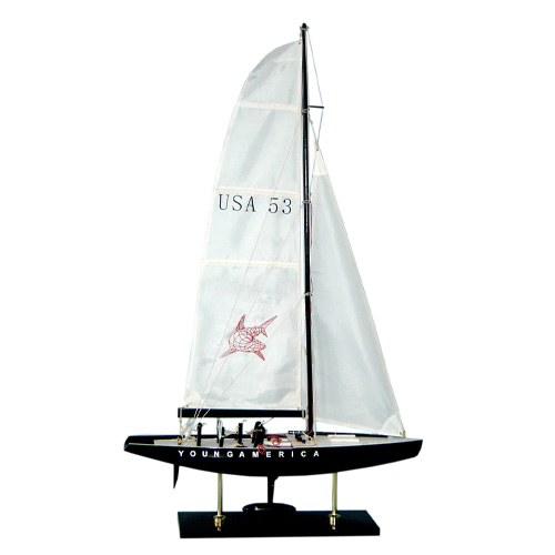 Modern Style Wooden Sailing Boat