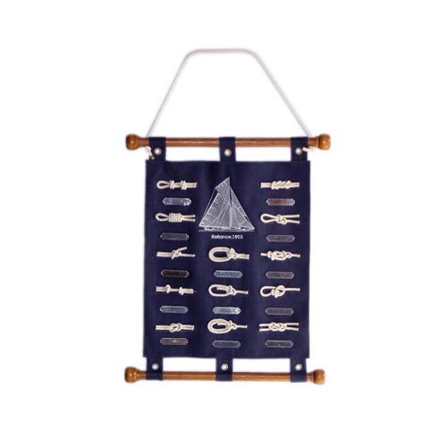 NAUTICAL CANVAS WALL HANGING