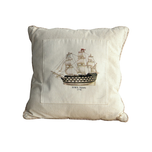 NAUTICAL CANVAS PILLOW