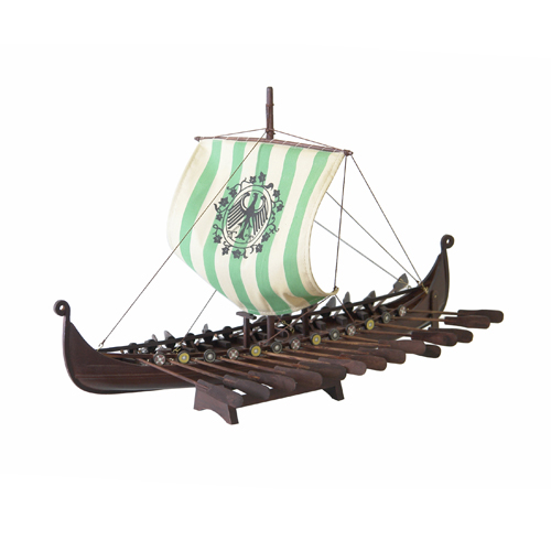 Wooden Dragon Boat