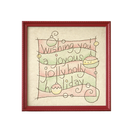 Holiday Hand Drawing Frame