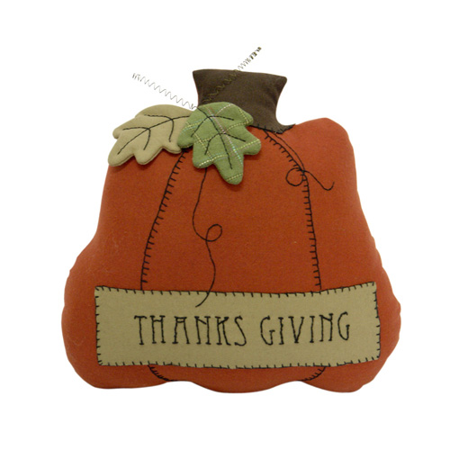 THANKS GIVING PUMPKIN CUSHION
