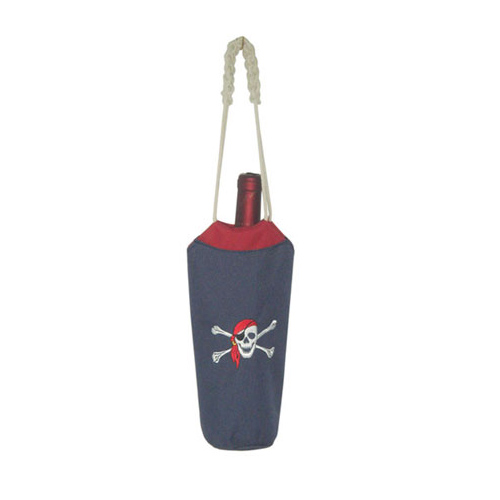 PIRATE THEME WINE BOTTLE BAG