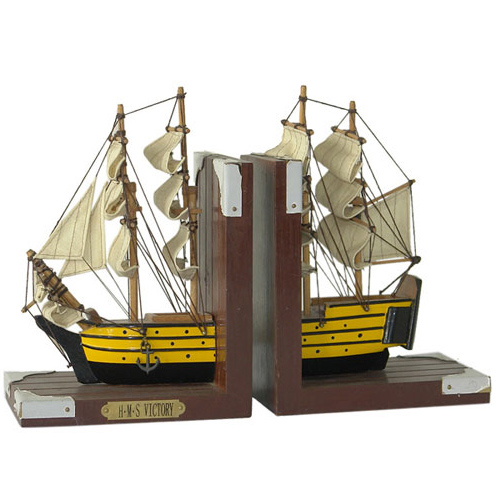 Nautical Bookend - HMS Victory