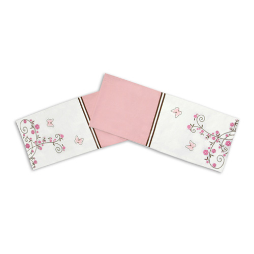 BUTTERFLY WITH FLOWER TABLE RUNNER