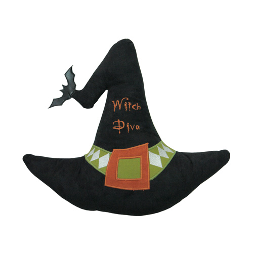 WITCH HAT CUSHION
