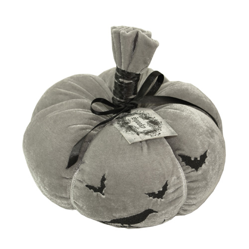 Embroidery Velvet Pumpkin Decor
