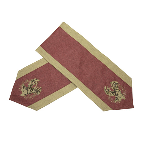 Buck Christmas Table Runner