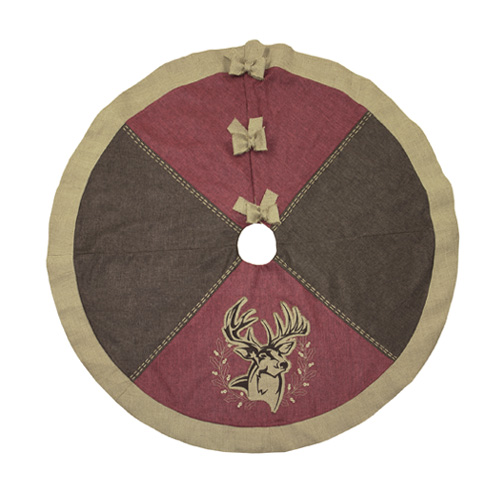 Buck Christmas Tree Skirt