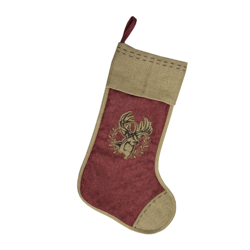 Buck Christmas Stocking